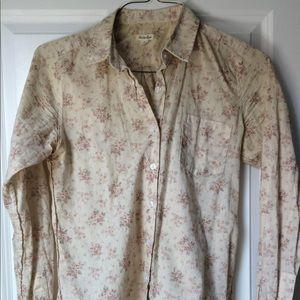 Steven Alan Floral Button Down Shirt